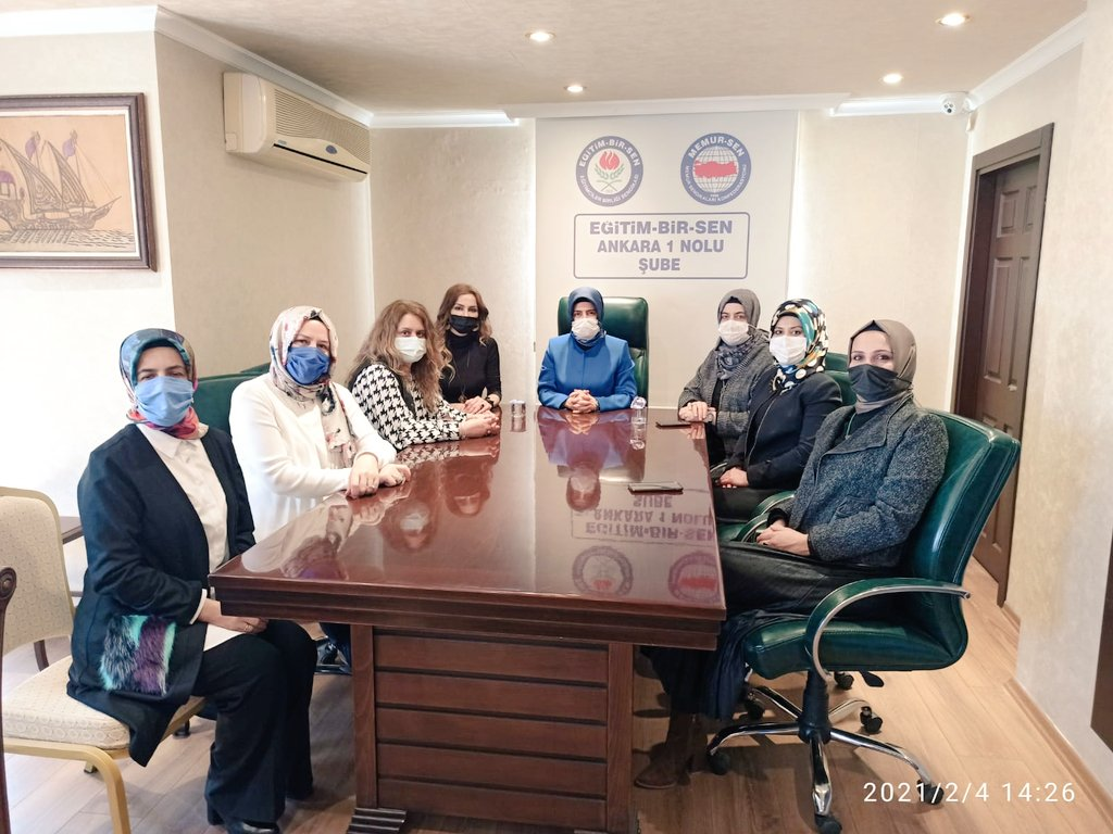 Memur-Sen ve Eğitim-Bir-Sen Genel Merkez Kadınlar Komisyonu Başkanımız Sıdıka Aydın Şubemizi Ziyaret Etti