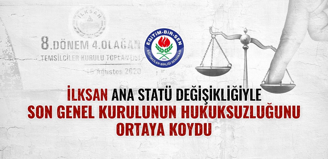 İLKSAN ana statü değişikliğiyle son genel kurulunun hukuksuzluğunu ortaya koydu
